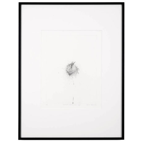 Gavin Turk Exhaust Etching – Particle