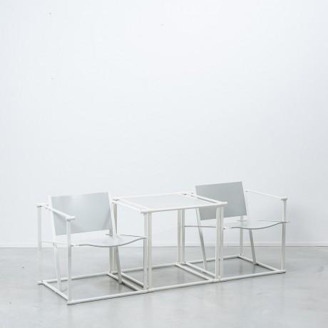 Radboud Van Beekum FM61 chairs