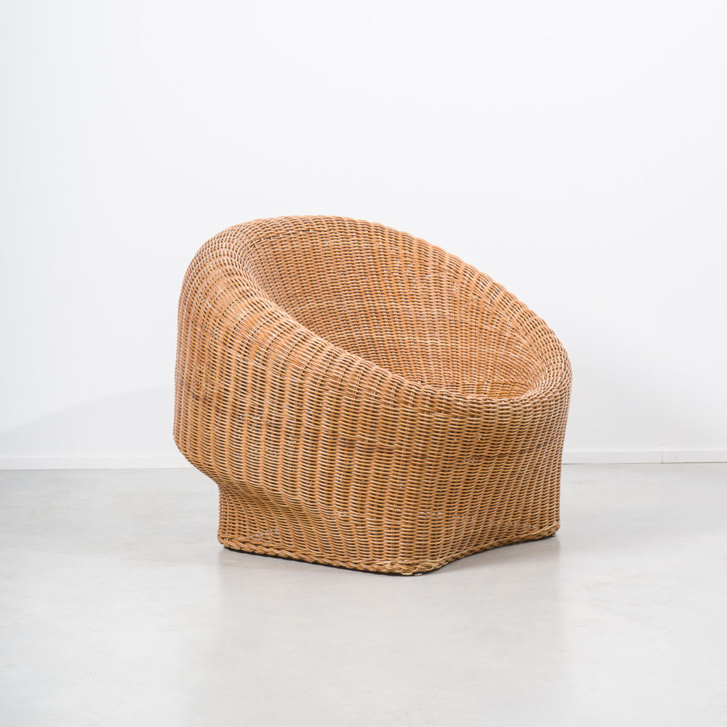 seat indoor chair arm basket ikea round pin meditation wicker rattan repair furniture