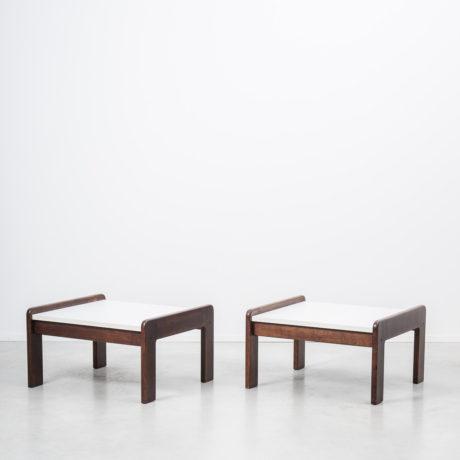 Pair of Visser wenge tables