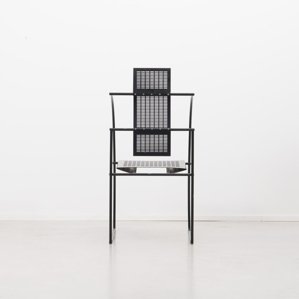 Pair of Mario Botta Quinta chair