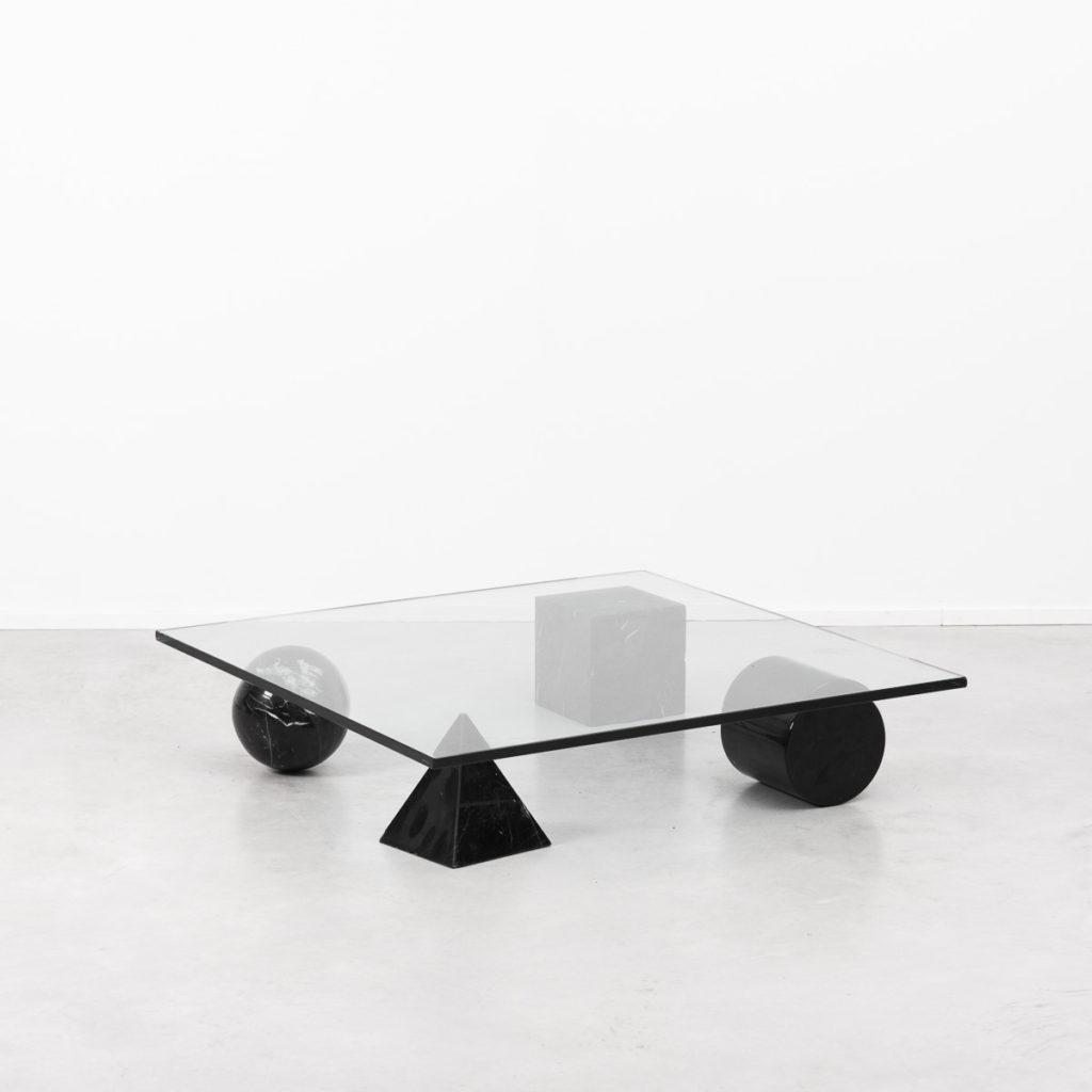 Lella & Massimo Vignelli table