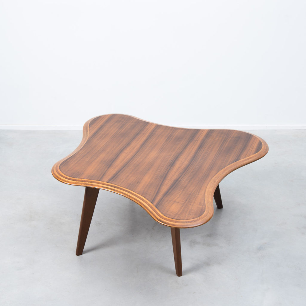Neil Morris walnut Cloud table