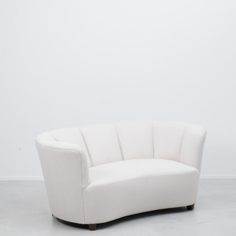 1940s Danish banana sofa