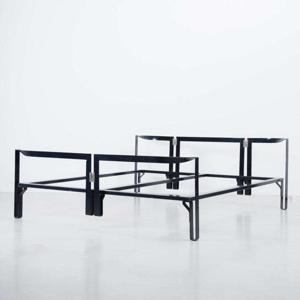 Tobia Scarpa Vanessa 1950s bed