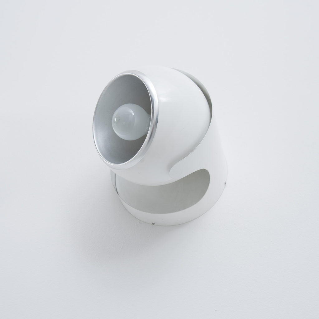Luci PL402 Italian white wall lamps
