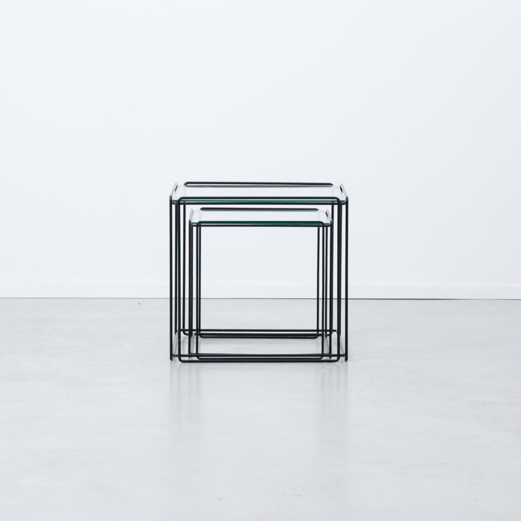 Max Sauze trio nesting tables