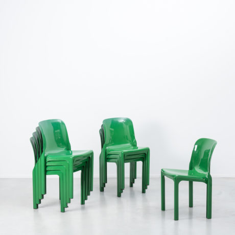 Vico Magistretti Selene chairs