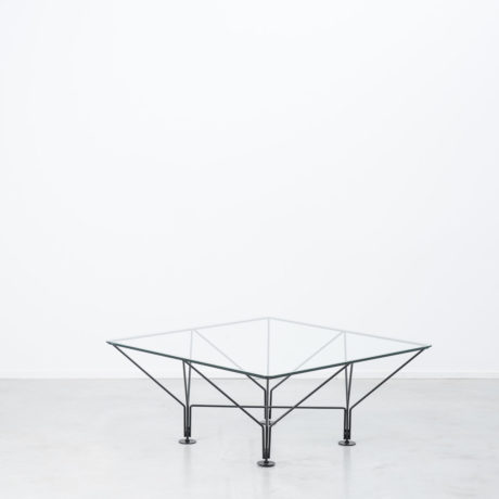 1980s Wire frame table attr. Paolo Piva