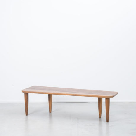 American walnut bench