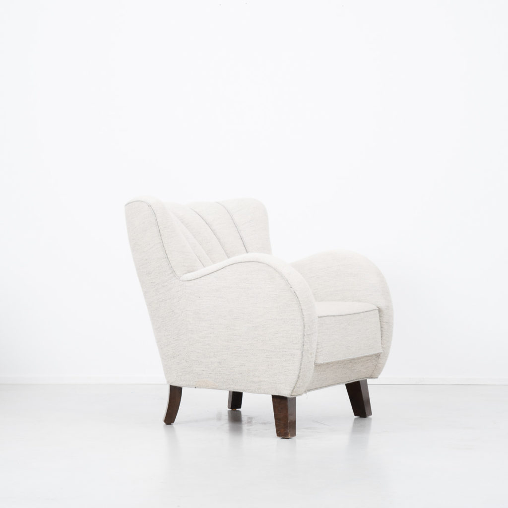 Danish cabinet maker armchair
