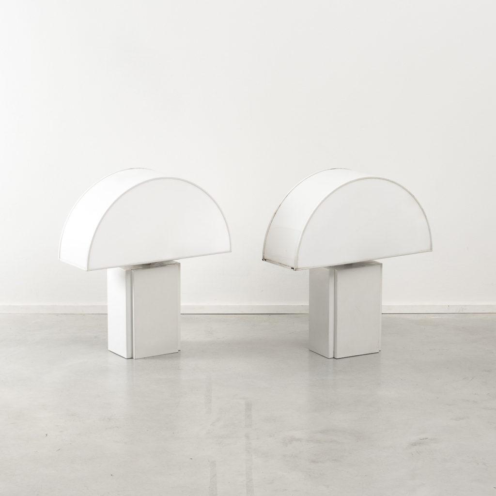 Pair Harvey Guzzini Olympe table lamp