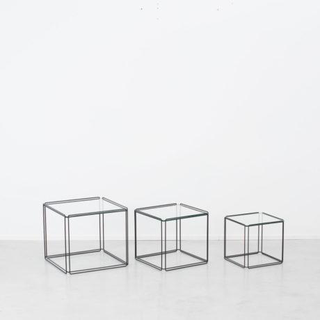 Max Sauze trio nesting tables