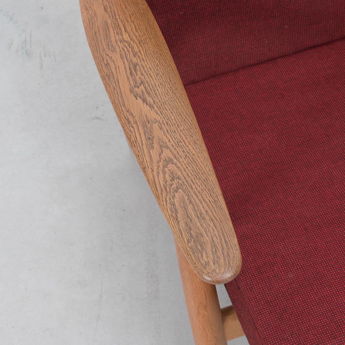 no code hans wegner plank chair 4 béton brut