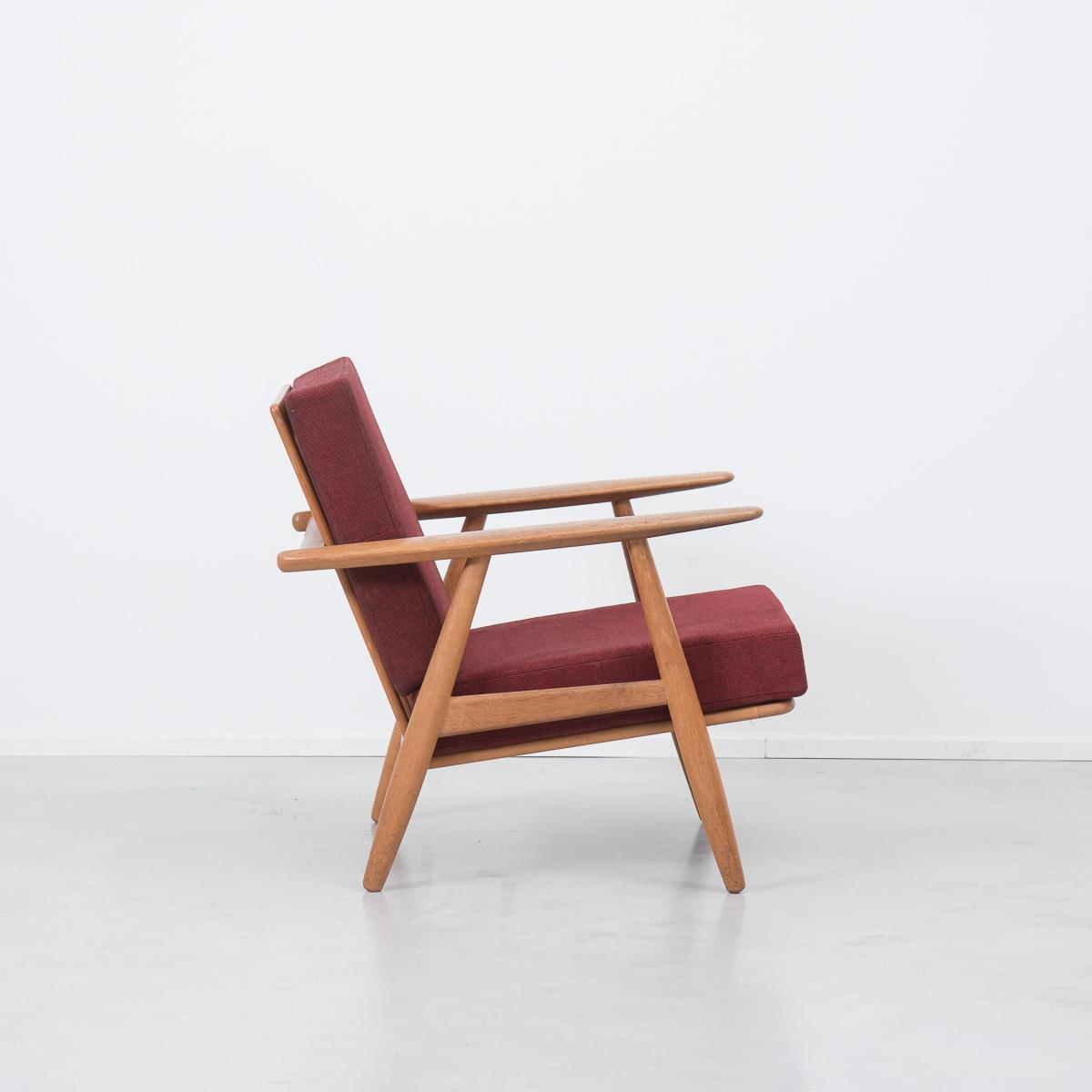 no code hans wegner plank chair 5 béton brut