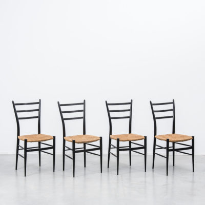 Chiarvari Spinetto rattan dining chairs