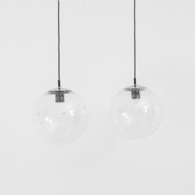 Raak glass globes pendants