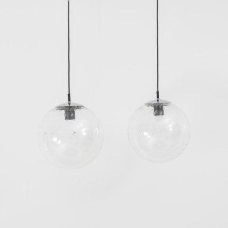 Glass globe pendants