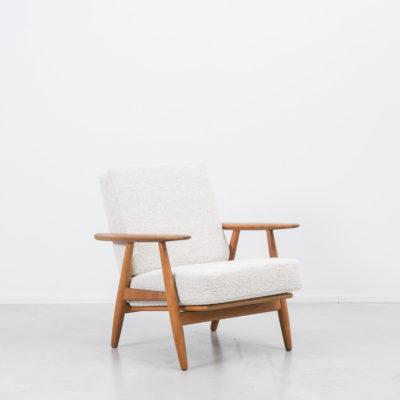 Hans J Wegner GE 240 Cigar oak armchair