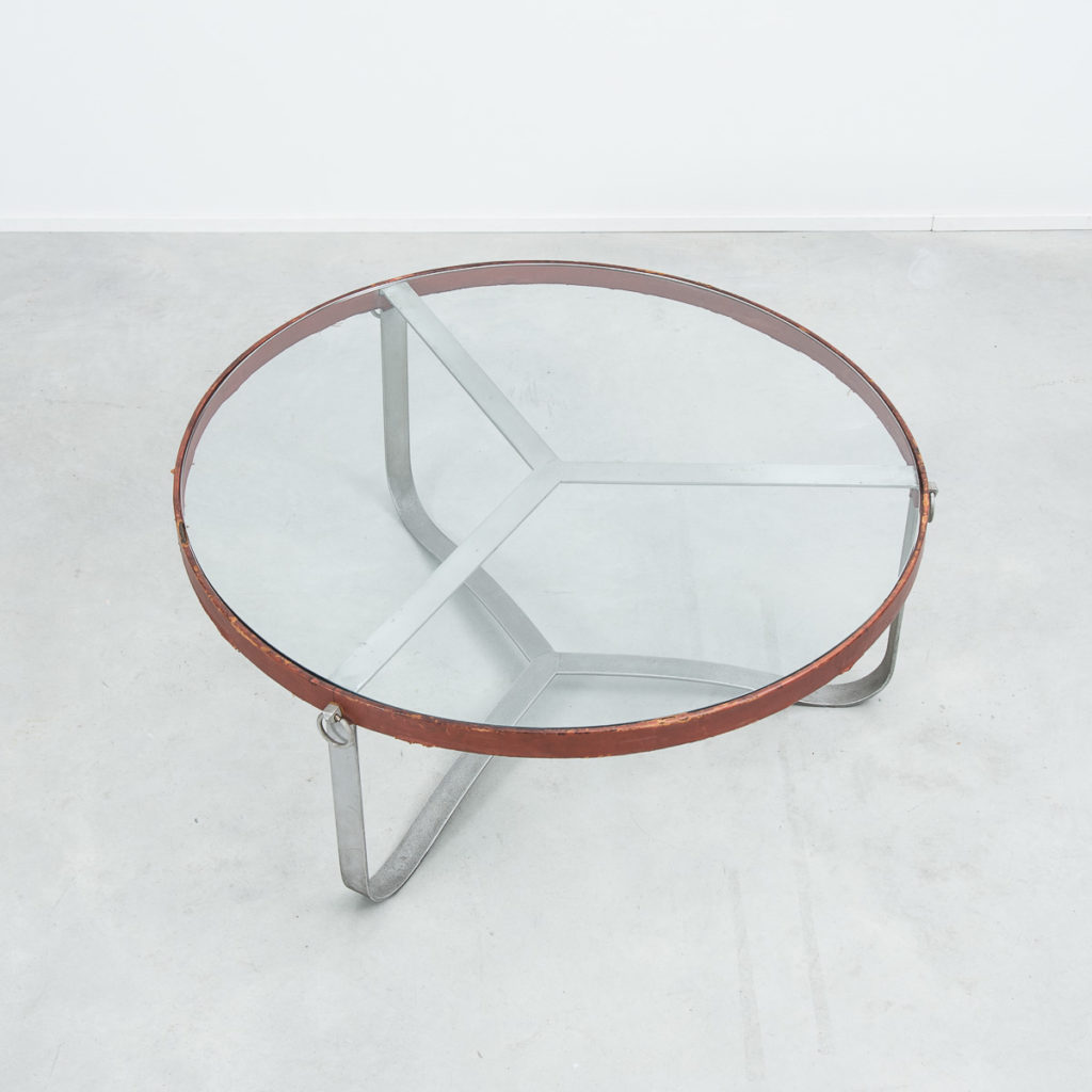 Jacques Adnet coffee table