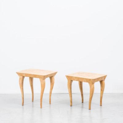 Augousti scumble glaze side tables