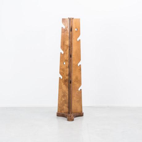Sculptural ply coatstand