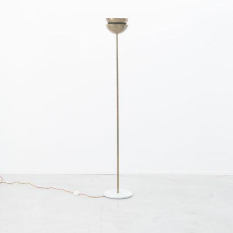 Italian brass & marble lamp