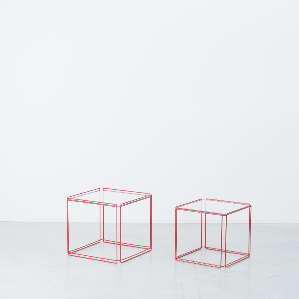 Max Sauze duo of nesting tables
