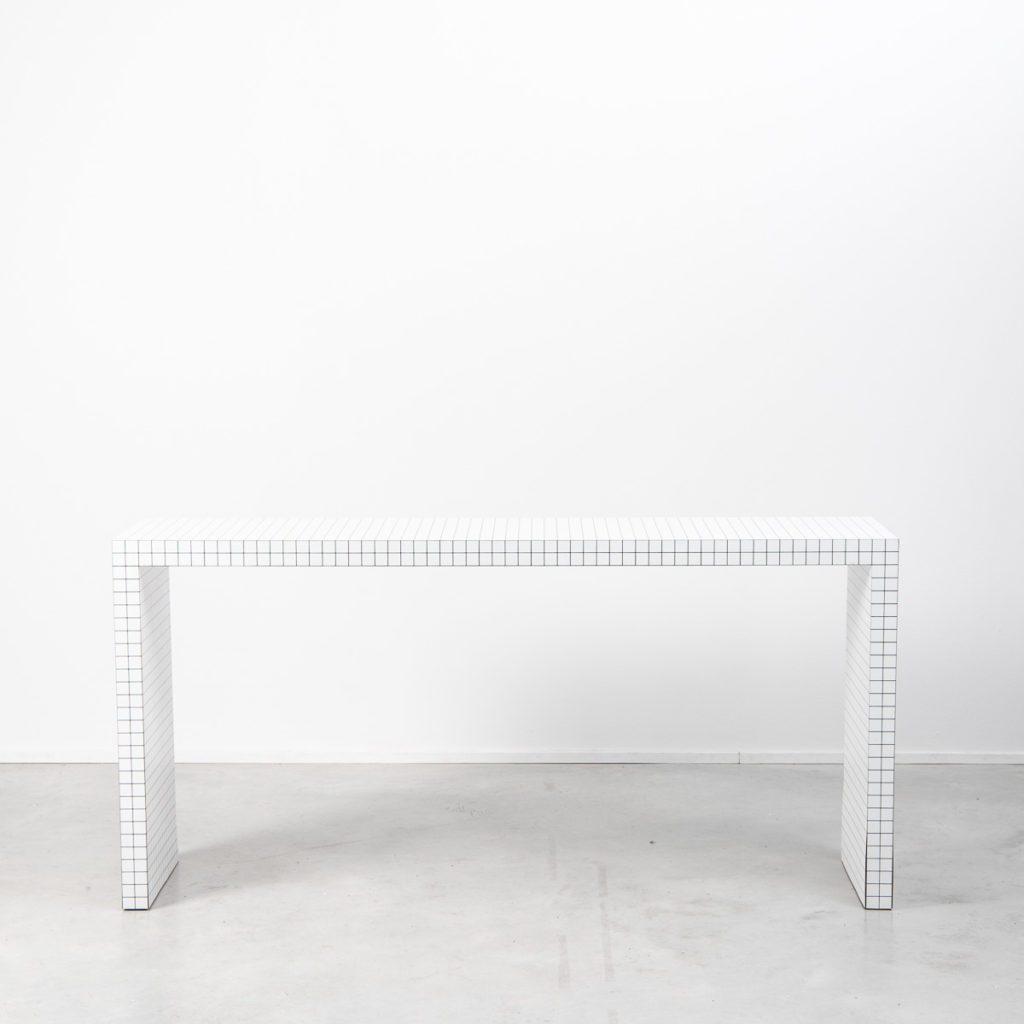 Superstudio Quaderna console table