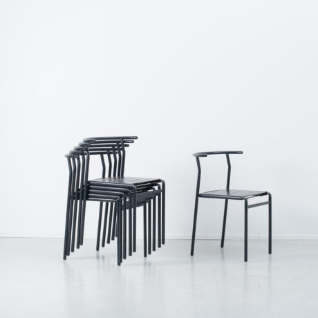 Six Philippe Starck Café chairs