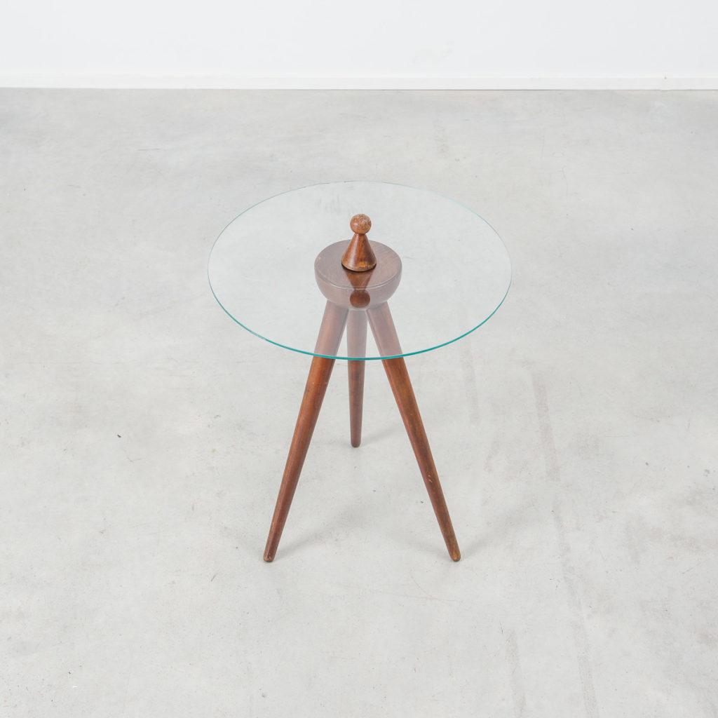 Mid Century Gueridon table