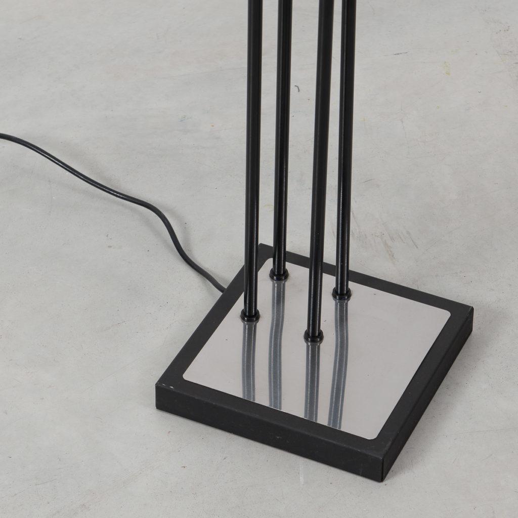 Black Reggiani Floor Lamp