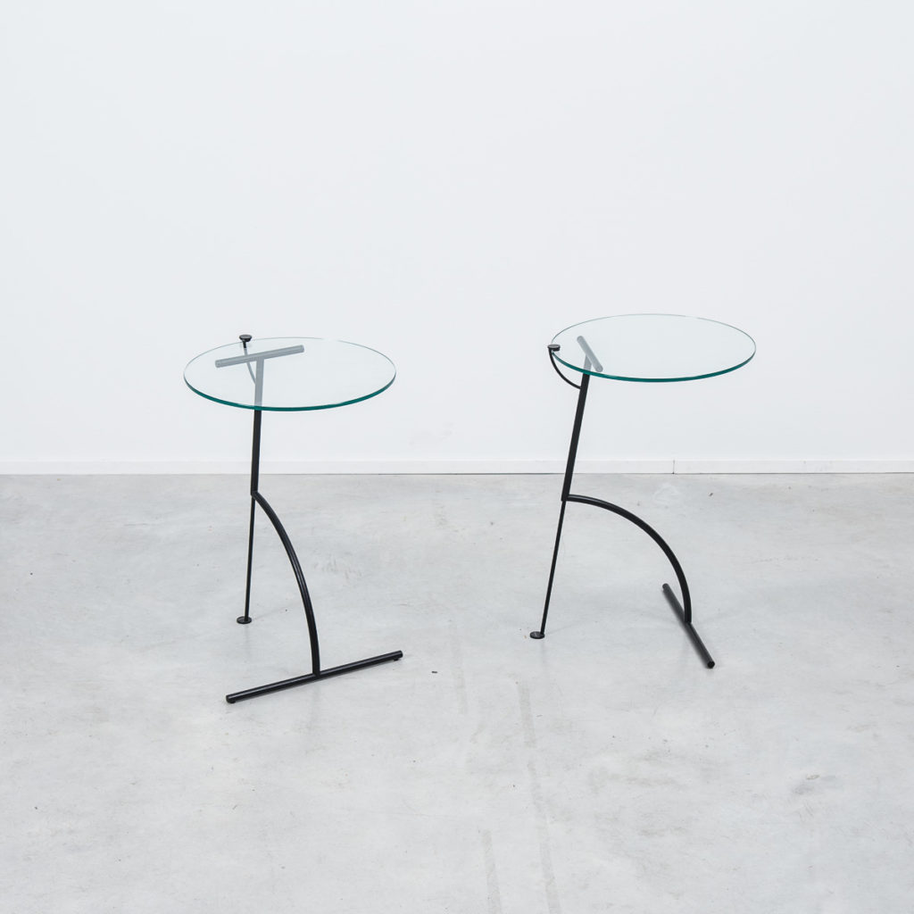 A Pair Of Italian Side Tables
