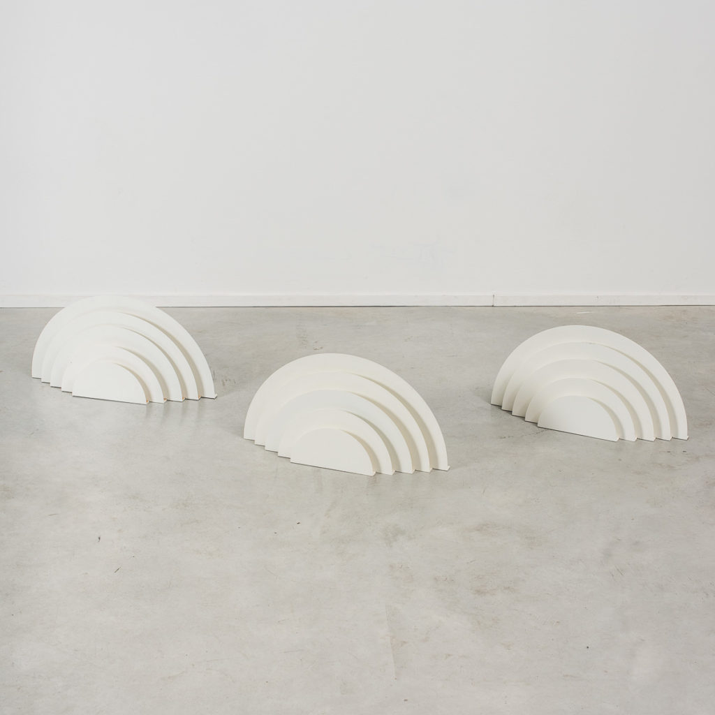 Meander wall lamps by Casati and Ponzio
