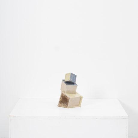 Late 20th century cubist sculpture