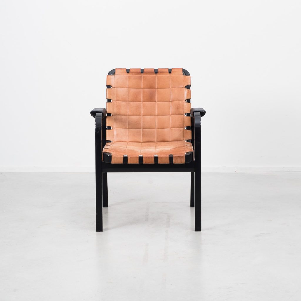 Alvar Aalto model 44 armchairs