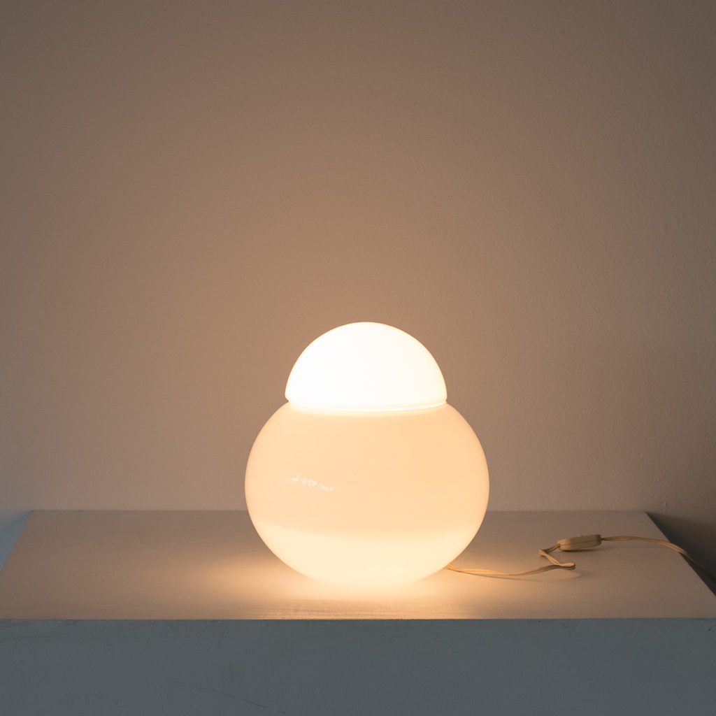Sergio Asti Daruma table lamp