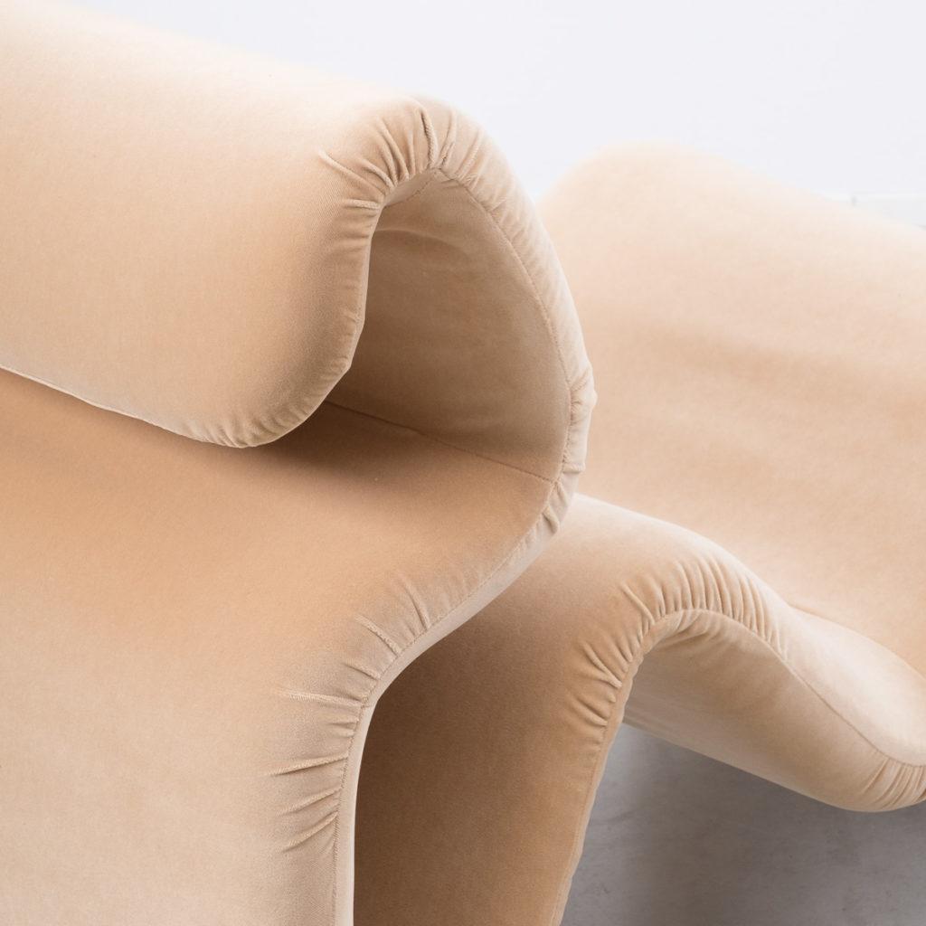 Jan Ekselius Etcetera armchair & stool