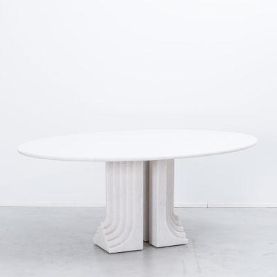 Carlo Scarpa Samo table in carrara marble