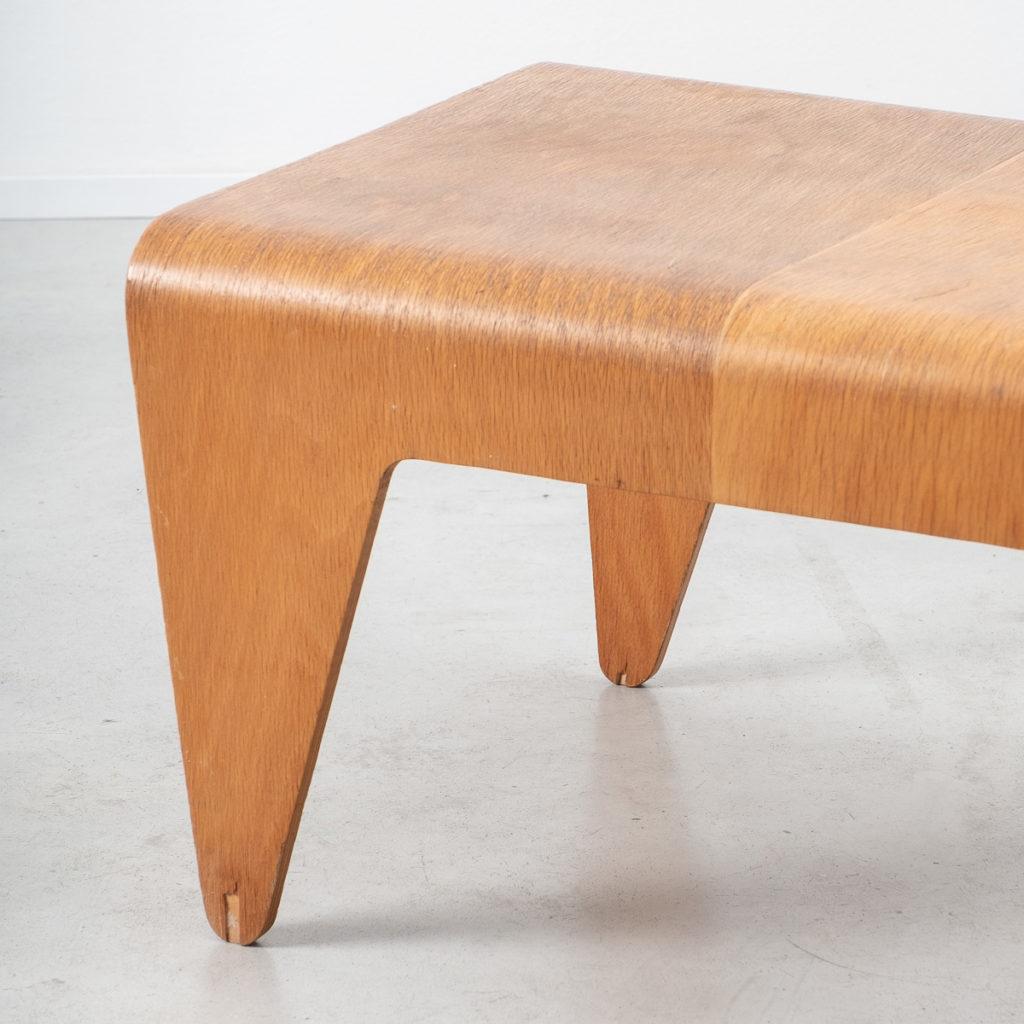 Marcel Breuer bent plywood table