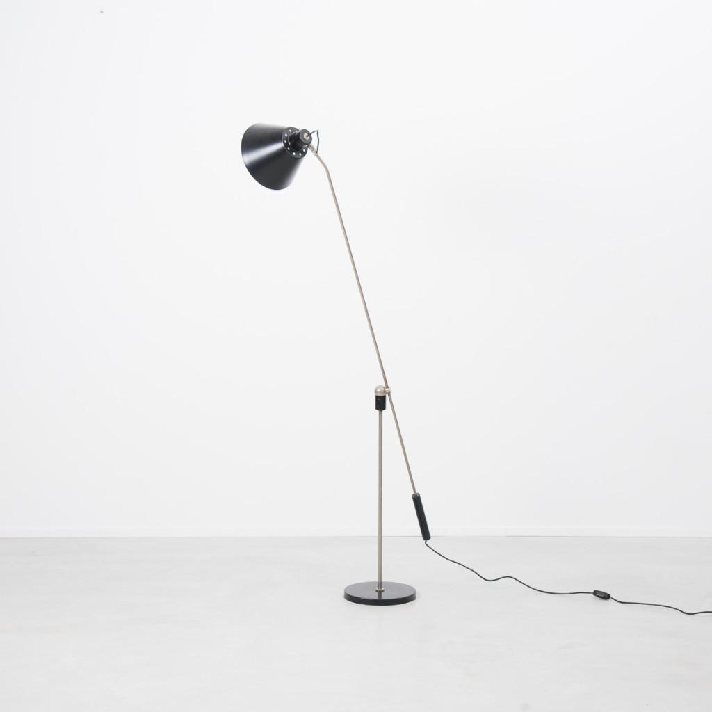 H Fillekes Magneto Floor Lamp