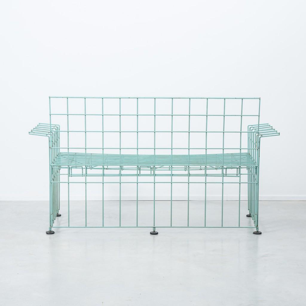 Bruno Munari Abitacalo wire sofa