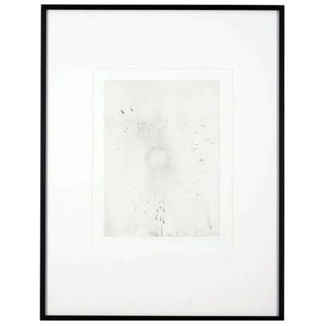 Gavin Turk Exhaust Etching – Ghost