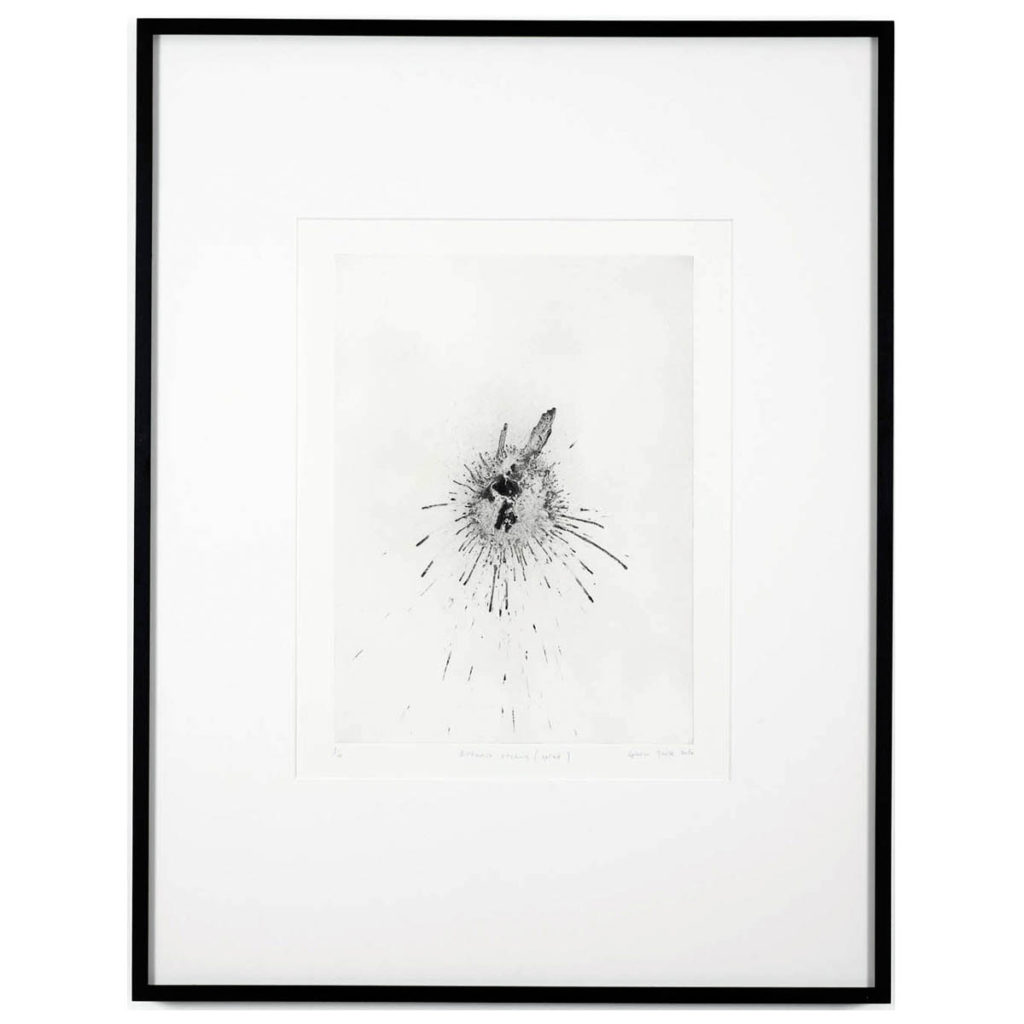 Gavin Turk Exhaust Etching – Splat