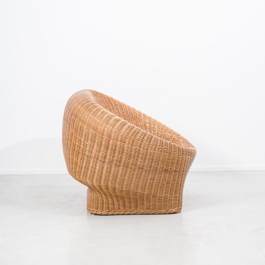 Wim Den Boon Rohe basket armchair
