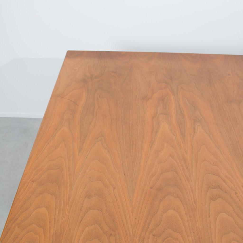 Architect designed teak dining table