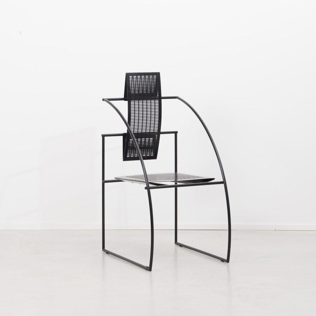 Pair of Mario Botta Quinta chair