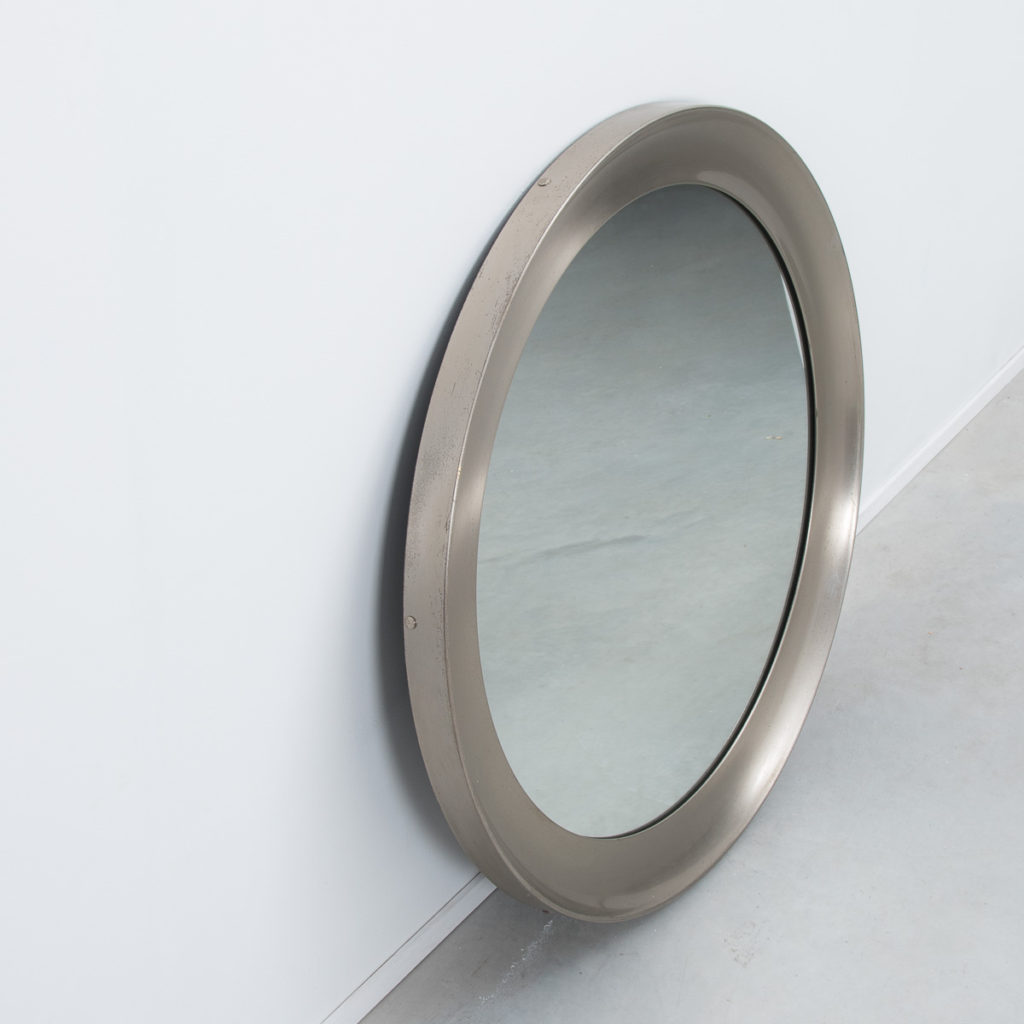 Sergio Mazza Narcisso nickel mirror