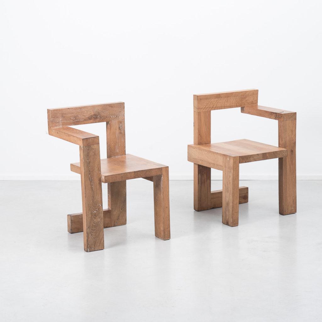 Gerrit Rietveld Steltman chairs