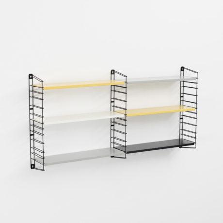 Tomado Two Bay Wall Hanging Shelves